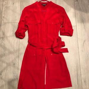 Express dress, red, XS